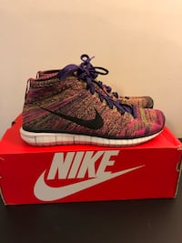 Nike Free Flyknit Chukka 2015 Men's Shoes Size 11 - Fireberry Huntersville, 28078