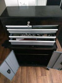 black and gray metal tool chest Buena Park