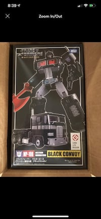 Transformers masterpiece MP-10B black convoy optimus prime Westbury