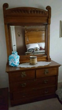 Antique Dresser and Bed. Henderson, 80640