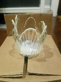 8 Clear Glass Tulip Votive Holders Washington, 20001