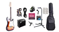 Electric guitar with 15W amp and package brand New Toronto