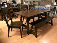 7PC Farm Style Dining Set *FREE FELIVERY* Odenton