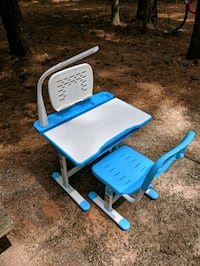 Adjustable Desk & Chair with light