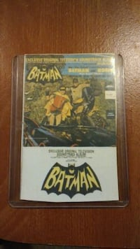 Batman card trading card