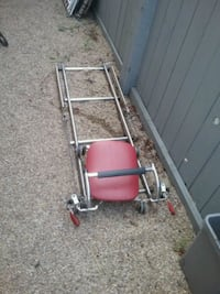 gray and red metal frame Edmonton, T6T 1J8