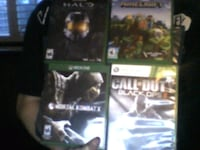 Xbox one games. $60 or Negotiable South Ogden