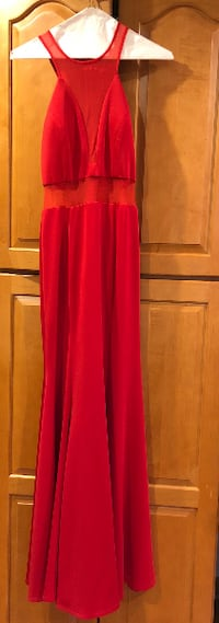 Red Prom Dress Bowie