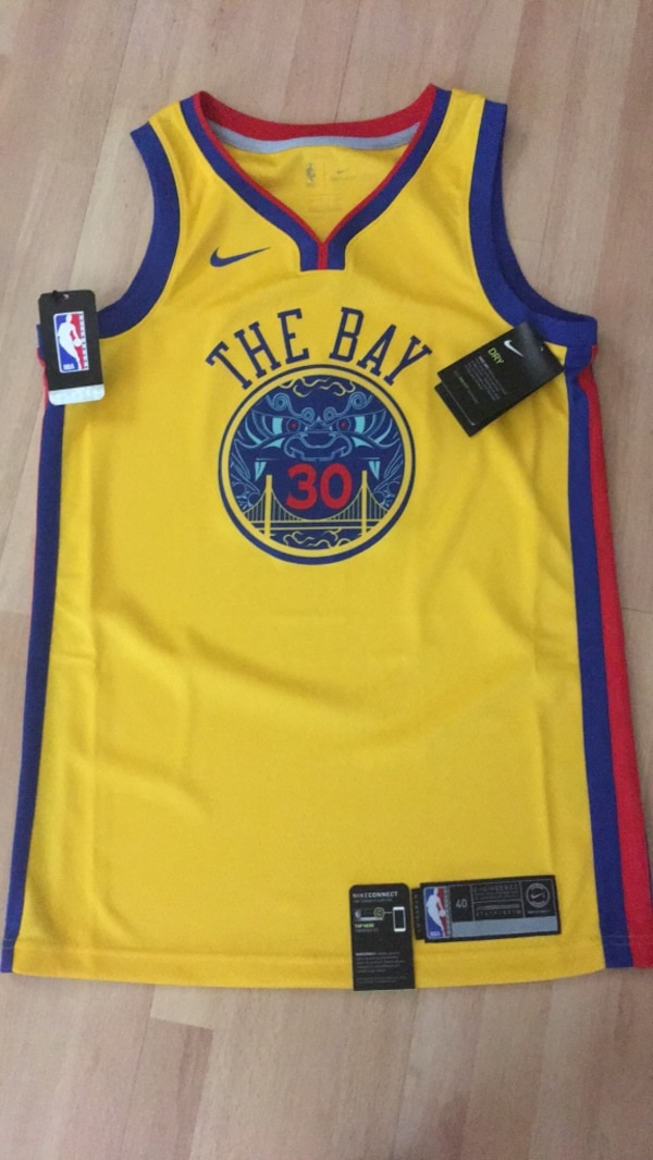 ce0664589b4c Used NIKE SWINGMAN CITY STEPHEN CURRY JERSEY SIZE 40 SMALL NWT for sale in Daly  City - letgo