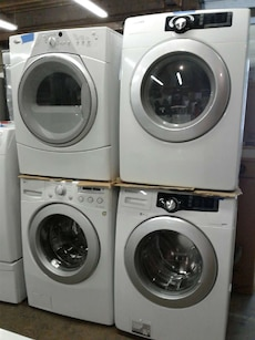 Samsung Front load set washers and dryer