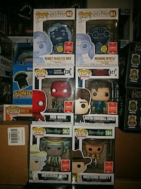 assorted Pop ! vinyl figures Gaithersburg, 20877