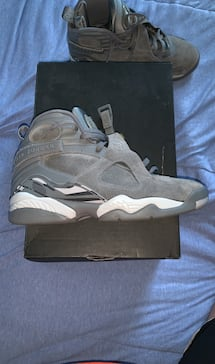 Jordan 8 cool greys size 8