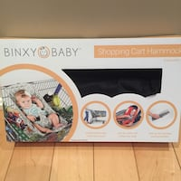 Binxy baby shopping cart hammock box