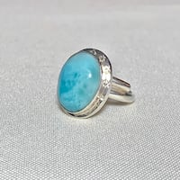 Vintage Sterling Silver Sky Blue Larimar Ring Ashburn, 20147
