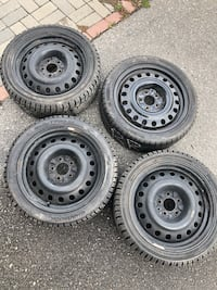 Hankook winter tires with rims 215/45/17 Vaughan, L6A 4S1