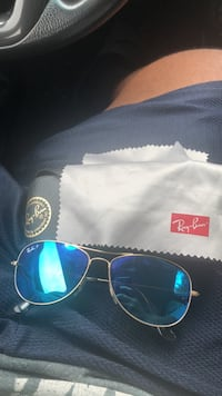 black framed Ray-Ban aviator sunglasses Randallstown, 21133