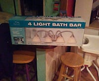 grey 4-light bath bar light box Petoskey, 49770