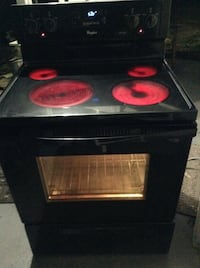 black and red electric coil range oven Birmingham, 35214