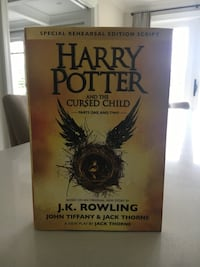 Harry Potter and the Cursed Child NEW BOOK Richmond Hill, L4C 9S5