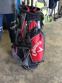 red and black Callaway golf bag Meansville, 30256