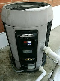 Hayward in ground Pool heater.  Dracut, 01826