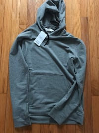 gray zip-up hoodie Kitchener, N2C