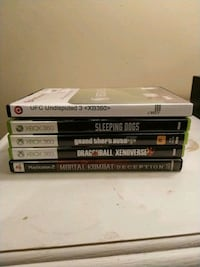 four Xbox One game cases Tampa, 33605