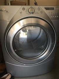 whirlpool electric duet steam front-load clothes dryer $150 obo