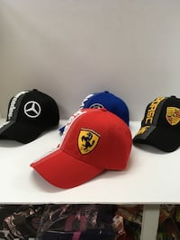 New F1 racing car caps, one size fits all. Montréal, H4N 1K9