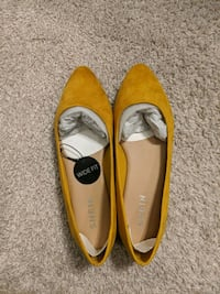 Yellow Flats by Shein Alexandria, 22315