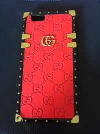 Red Gucci iPhone 6s Case with Strap  Simcoe, N3Y 1E4