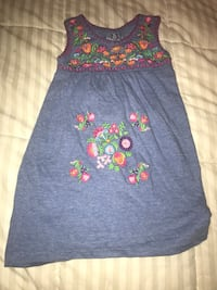 blue and red floral sleeveless dress San Antonio, 78227