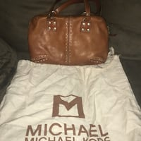 Michael Kors-Brown leather tote bag with dust cover Sacramento, 95814