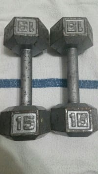 Set of 15 lb Hex Dumb Bells Fairfax, 22030