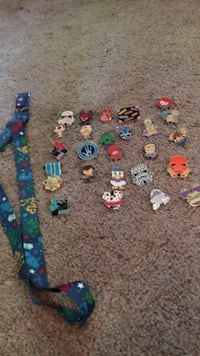 24 Disney pins _rare_and an 2013 Landerd Kinnelon, 07405