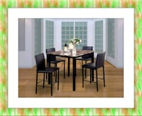 High dining table with chairs free shipping Laurel, 20707