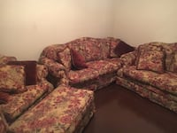 3 piece couch set Lubbock, 79410