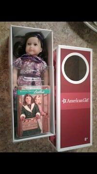 American Girl Ruthie Mini Doll & reading book of REALLY TRULY