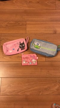Pencil cases and coin purse Brossard, J4Z 0K4