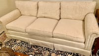 Ivory Sofa Couch Hinsdale