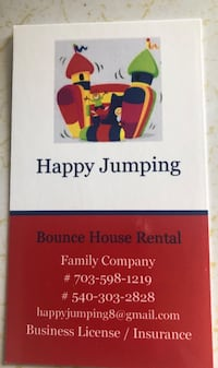 Bounce house and inflatables rental Winchester, 22601
