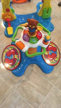 toddler's blue multicolored Vtech musical toy Springfield, 22151