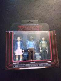 Stranger Things Set Of 3 figures Gaithersburg, 20886