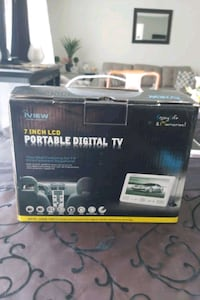Iview 7 inch lcd portable digital  tv