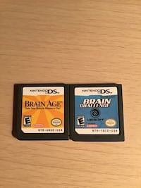 2 Nintendo DS Games  London