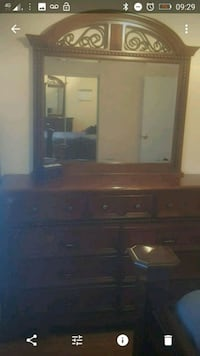 Chest of drawer with mirror Ajax, L1S 5L1