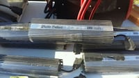two black and gray car amplifiers 3501 km