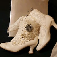 One of a kind White Vintage Boots San Antonio, 78251