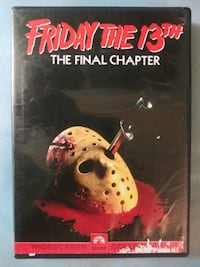 Friday the 13th The Final Chapter dvd Glen Burnie