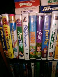 Vhs tapes 1.00 each
